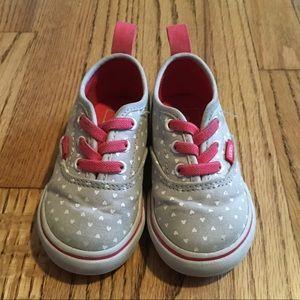 Girls Toddler Vans slip on size 5.5